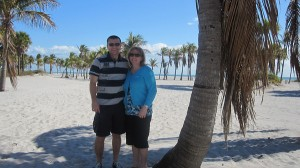 Kathy on vacation in Florida