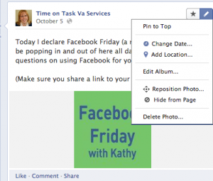 How to Pin a Post on your Facebook Business Page