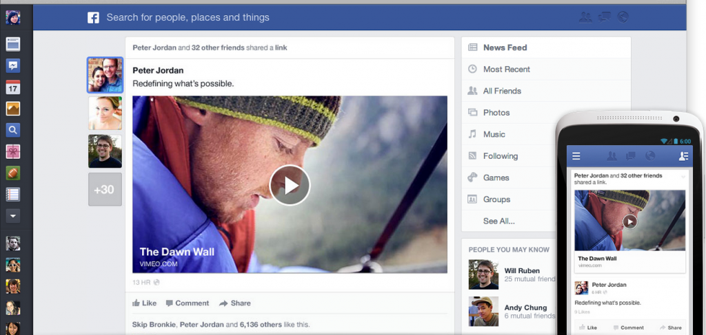 what are the new facebook changes